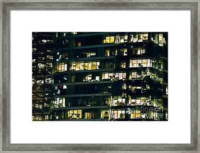 Framed Print featuring the photograph Voyeuristic Work Cclxvii by Amyn Nasser