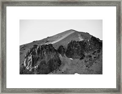 Vulcan's Eye Framed Print by Jan Davies