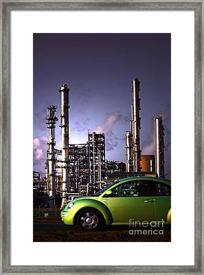 Framed Print featuring the photograph Vw Beetle by Craig B