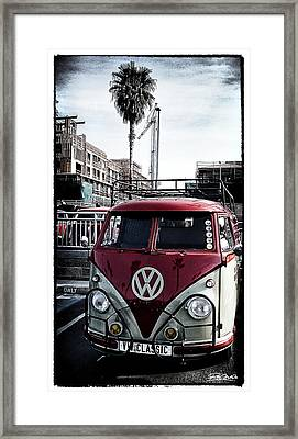 Vw Classic Framed Print by Ron Regalado