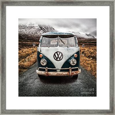 Vw In Glen Etive Framed Print