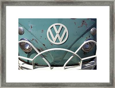 Vw Oldie But Goodie Framed Print by Jane Eleanor Nicholas