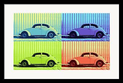 Metallic Sheets Digital Art Framed Prints