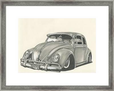 VW Framed Print by Raquel Ventura