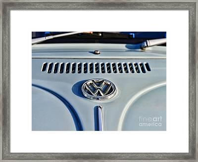 Vw Volkswagen Bug Beetle Framed Print