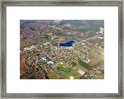 W-056 Wild Rose Wisconsin Fall Framed Print by Bill Lang