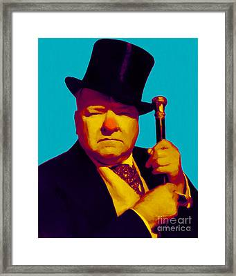W C Fields 20130217m135 Framed Print by Wingsdomain Art and Photography