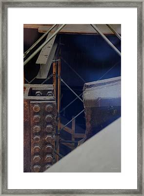 W T C Steel  Framed Print by Rob Hans
