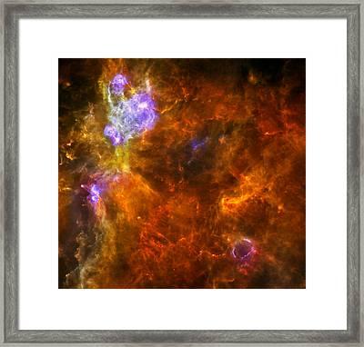 W3 Nebula Framed Print