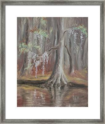 Waccamaw River Cypress Framed Print