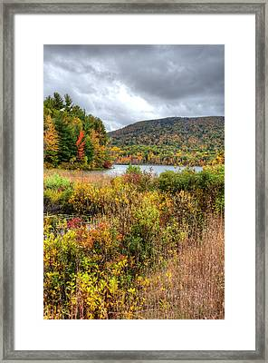 Wachusett Mt. In Autumn Framed Print