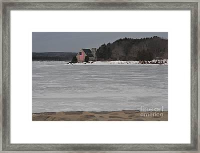 Wachusett Reservoir Framed Print by Catherine Reusch Daley