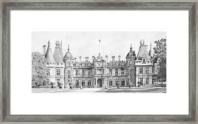 Waddesdon Manor Framed Print by Stuart Attwell