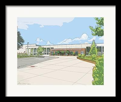 Hamptons Mixed Media Framed Prints