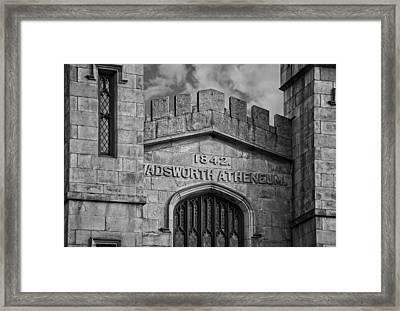 Wadsworth Atheneum Framed Print