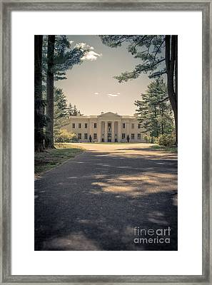 Wadsworth Mansion Middletown Connecticut Framed Print by Edward Fielding