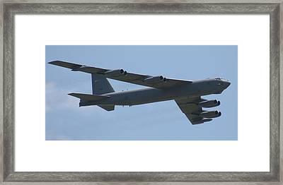 Wafb 09 B52 Stratofortress Framed Print