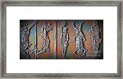 Wages Of Sin Framed Print by John Malone