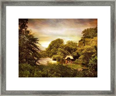 Wagner Cove Framed Print by Jessica Jenney