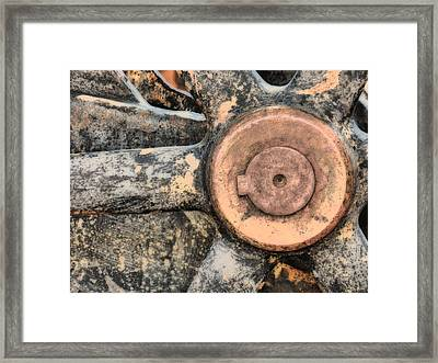 Wagon Wheel Framed Print