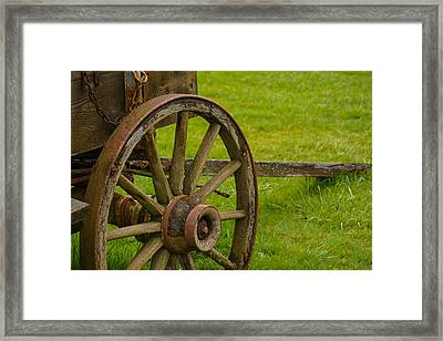 Wagons West Framed Print by Tikvah's Hope