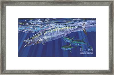Wahoo Surprise Off0037 Framed Print by Carey Chen