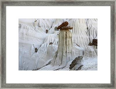 Wahweap Hoodoos Detail 3 Framed Print