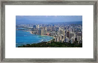 Waikiki Framed Print by Kara  Stewart