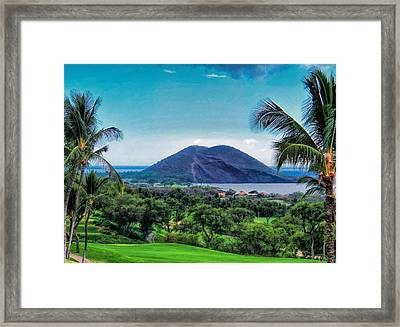 Wailea Golf 6 Framed Print