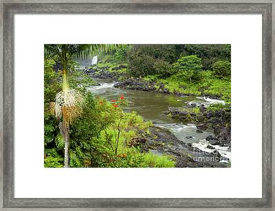 Wailuka River Framed Print by Bob Phillips
