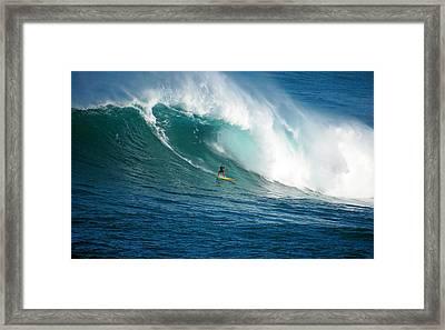 Waimea Bay Hawaii Framed Print by Kevin Smith
