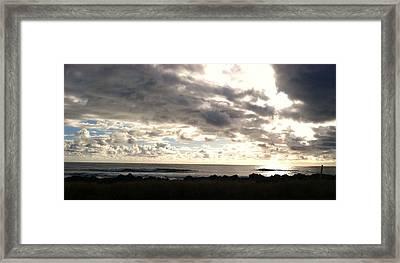 Waimea Sunset II Framed Print