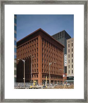 Wainwright Building Framed Print by Granger