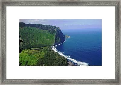 Waipio Valley Framed Print by Pamela Walton
