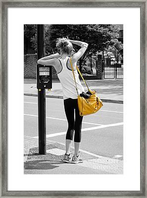Wait #1 Framed Print