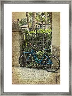 Wait Here For Me Framed Print