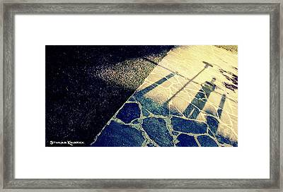 Framed Print featuring the photograph Wait In The Shade by Stwayne Keubrick