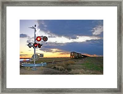 Framed Print featuring the photograph Wait Your Turn by Shirley Heier