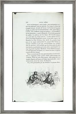 Waiter ! Waiter ! Framed Print by British Library