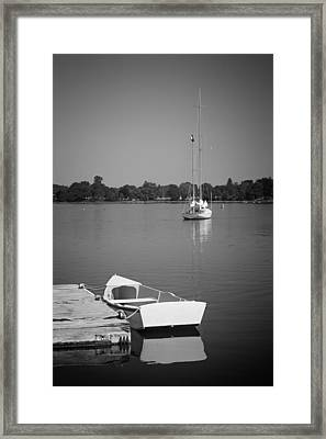 Waitin On The Wind Framed Print by Bill Wakeley