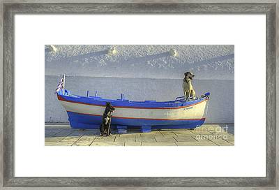 Waiting Framed Print by Alex Dudley