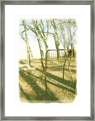 Waiting  Framed Print by Ann Powell