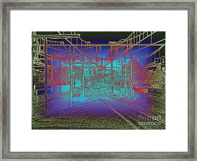 Waiting At Gouda Station Framed Print