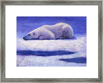 Waiting  Framed Print by Billie Colson