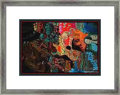 Waiting By Steven Langston Framed Print