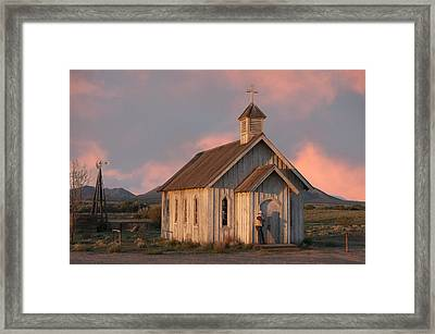Waiting.. Framed Print by Carolyn Dalessandro