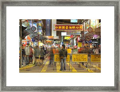 Waiting Framed Print by Colin Woods
