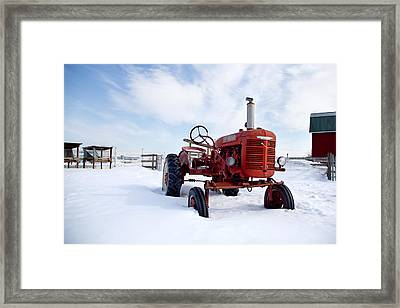 Framed Print featuring the photograph Waiting by Courtney Webster