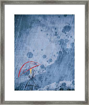 Waiting Framed Print by Decorative Arts