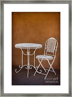 Waiting Framed Print by Elena Nosyreva
